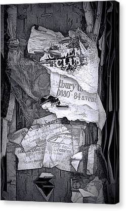 Tattered And Torn Canvas Print by Randall Nyhof