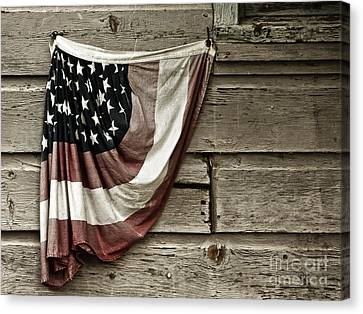 Canvas Print featuring the photograph Tattered Glory by Vicki DeVico