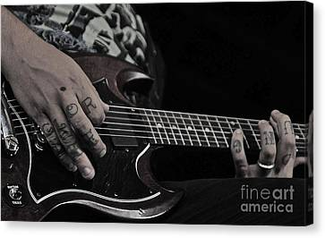 Tattoo Canvas Print by Kyle Robish