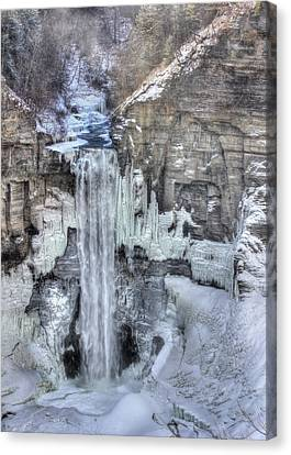 Taughannock Falls Canvas Print by Lori Deiter