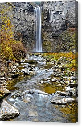 Taughannock Falls Canvas Print by Frozen in Time Fine Art Photography