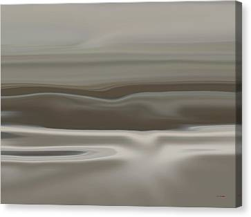Taupe Dunes Canvas Print by Tim Stringer