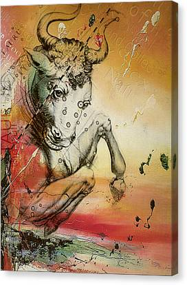 Taurus  Canvas Print by Corporate Art Task Force