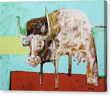 Taurus No 5 Canvas Print by Mark M  Mellon