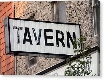 Tavern  - Strsch Canvas Print