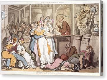 Tavern Scene Canvas Print by British Library