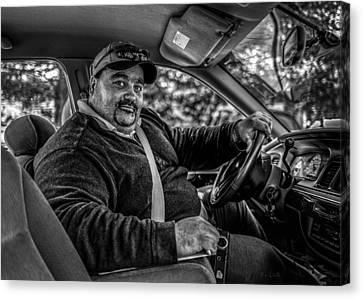 Sociology Canvas Print - Taxi Driver by Bob Orsillo