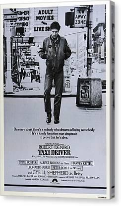 Taxi Driver, Robert De Niro, 1976 Canvas Print by Everett