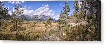 Canvas Print featuring the photograph Taylor Creek Panorama by Jim Thompson