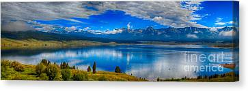 Taylor Park Reservoir Canvas Print