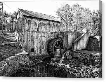 Taylor Sawmill - Derry New Hampshire Usa Canvas Print by Erin Paul Donovan