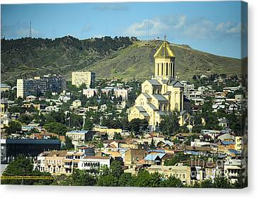 Tbilisi Canvas Print by Andrey Tovstyzhenko