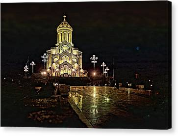 Tbilisi Church Canvas Print by Gouzel -