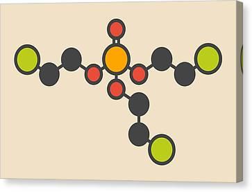 Tcep Molecule Canvas Print by Molekuul