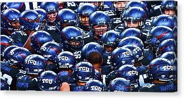 Tcu Horned Frogs Canvas Print