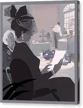 Tea Canvas Print by Clifford Faust