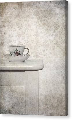Tea Cup Canvas Print by Joana Kruse