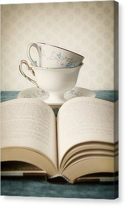 Tea For Two Canvas Print by Amy Weiss