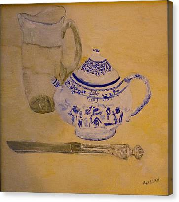 Tea Kettle Canvas Print