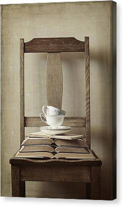 Tea Tales Canvas Print by Amy Weiss