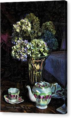 Tea Time Canvas Print by Kenny Francis