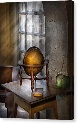 Teacher - Around The World Canvas Print by Mike Savad