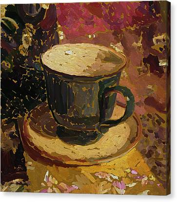 Teacup Study 2 Canvas Print