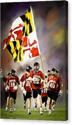 Team Maryland  Canvas Print by Scott Melby