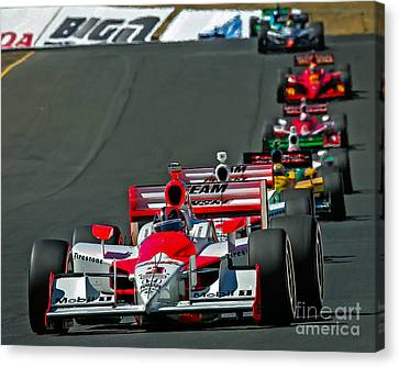 Team Penske Canvas Print by Webb Canepa