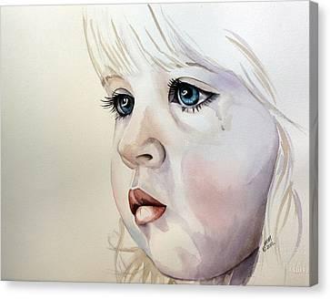 Tear Stains Canvas Print