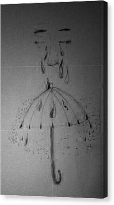 Tears From Above Canvas Print by Jesse Johnson