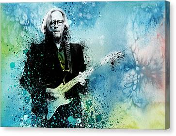 Eric Clapton Canvas Print - Tears In Heaven 3 by Bekim Art
