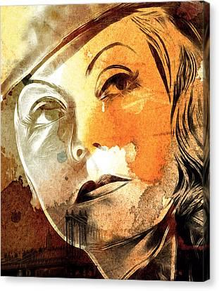 Tears In My Eyes Canvas Print by Steve K