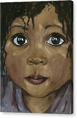Ebony's Tears Canvas Print