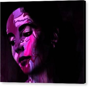 Tears Of Love Canvas Print by Steve K