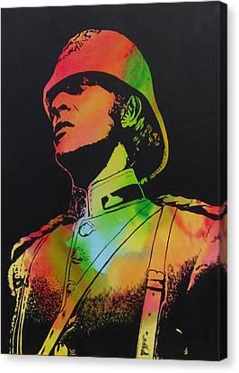Technicolour Michael Caine Canvas Print by Gary Hogben