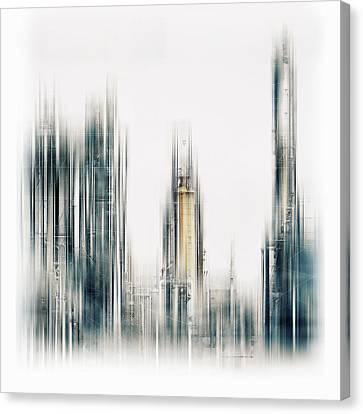 Haze Canvas Print - Techworld by Stefan Eisele