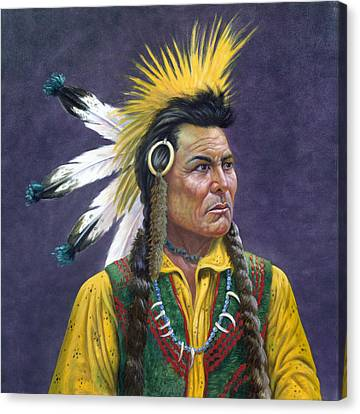 Tecumseh Canvas Print by Gregory Perillo