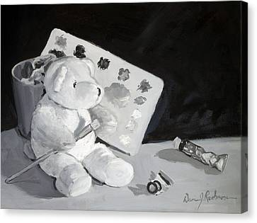 Teddy Behr The Painter #2 Canvas Print by Dan Redmon