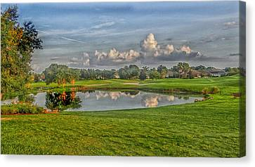 Tee Time 2 Canvas Print by Dennis Dugan