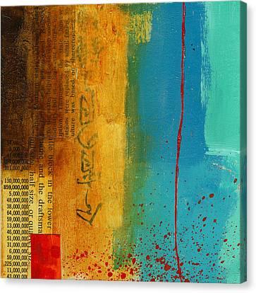 Teeny Tiny Art 111 Canvas Print by Jane Davies