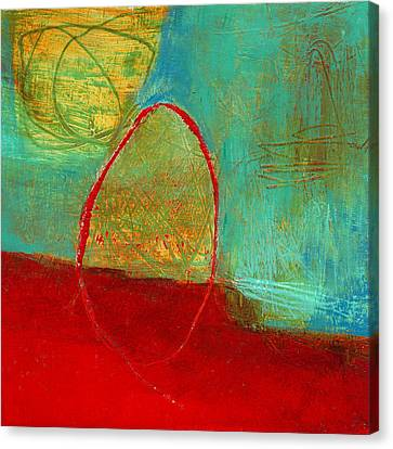 Teeny Tiny Art 115 Canvas Print by Jane Davies