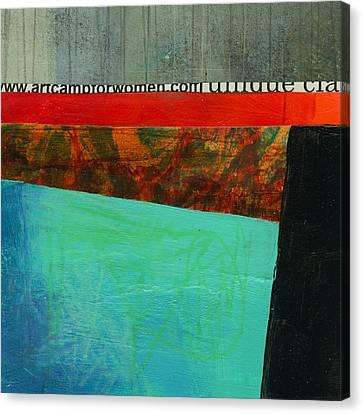 Teeny Tiny Art 122 Canvas Print by Jane Davies