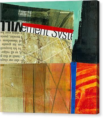 Teeny Tiny Art 75 Canvas Print by Jane Davies