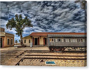 Tel Aviv Old Railway Station Canvas Print by Ron Shoshani