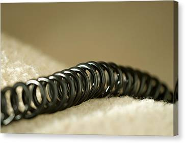 Telephone Cord Canvas Print by Celso Diniz