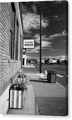 Telephone Museum Canvas Print by John Bushnell