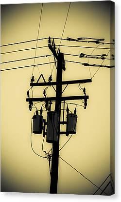 Telephone Pole 3 Canvas Print