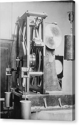 Telescope Clock, Sydney Observatory Canvas Print by Science Photo Library