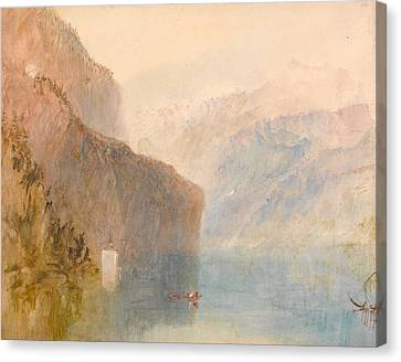 Tell's Chapel - Lake Lucerne Canvas Print